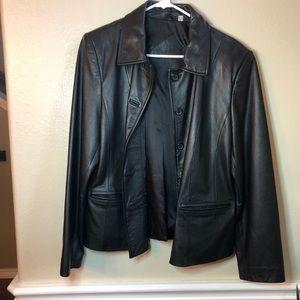 Preston & York genuine leather Jacket size M